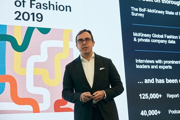 Achim Berg, Senior Partner & Global Leader of Apparel, Fashion and Luxury Group hos McKinsey & Co. og medforfatter af State of Fashion-rapporterne.