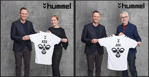 Hummel har ansat Lone Kier som Footwear Buying and Product Manager  og Ulrik Feldskov Juul som PR, Karma & Communications Manager.