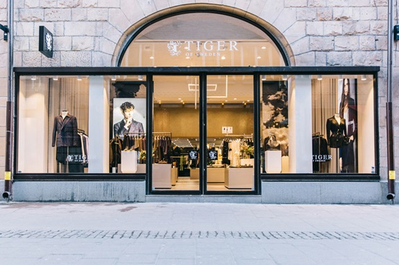 Tiger of Swedens flagship store i Stockholm